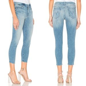 MOTHER Looker Crop Jeans Well Played 27